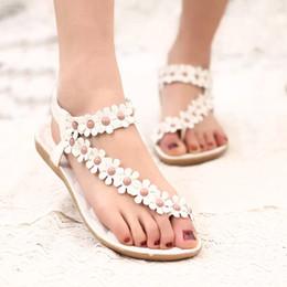 Wholesale Flat Sandals Bling - 2018 Women Sandals Summer Style Bling Bowtie Fashion Peep Toe Jelly Shoes Sandal Flat Shoes Woman 3 Colors 01F669
