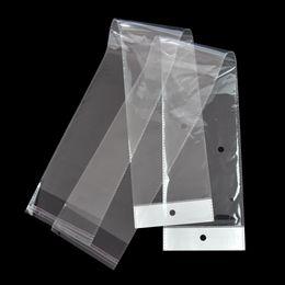 10.5 * 62 см прозрачный длинный пластиковый мешок OPP для парик пакет ясно самоклеющиеся шиньон пакет Поли мешок волос расширение упаковки мешки от Поставщики сад натуральный