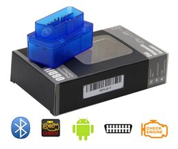 Argentina escáner de diagnóstico para automóvil automotor escaner automotriz Mini V2.1 ELM327 OBD2 ELM 327 Bluetooth interfaz Auto Car Scanner Suministro