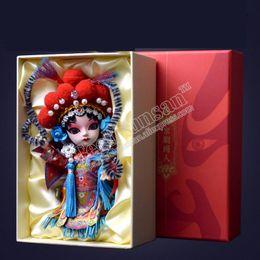 2019 дешевые королевские синие пkers for windows Китайская опера лицо кукла манекен орнамент мультфильм компаньон Пекин сувениры скидка дешевые королевские синие пkers for windows