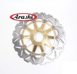 Wholesale Rs 125 - Arashi RS125R Front Brake Disc Brake Rotor FOR HONDA RS 125 R 1991-2005 1992 1993 1994 1995 1996 1997 1998 1999 2000 2001 2002 03 DBS008M W