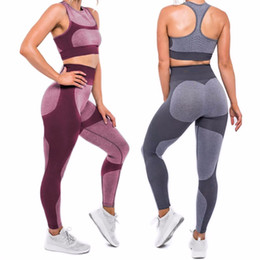 Wholesale sexy sportswear for women - 2017 Hot Sale Patchwork Hip Leggings Sportswear For Women Bodybuilding Slim Sexy Legging Female Pants Sale