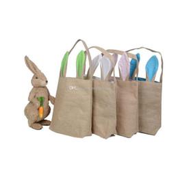 14 styles de lapin de Pâques oreille sacs bricolage broderie coton lin panier sac de Pâques cadeau emballage sacs à main pour enfants Festival fourre-tout sac 10 ? partir de fabricateur