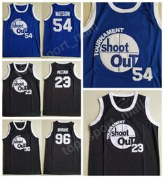Wholesale Tournoi de tournois Shoot Out Motaw Wood Jersey Hommes Kyle Watson Duane Birdie Tupac Maillots Basketball Au dessus De La Jupe Costume Double