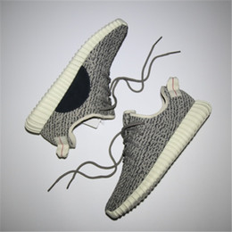 Wholesale Mens Diving - HOTSALE WITH BOX 2018 New Boost 350 V1 Turtule Dove Pirate Black Women Mens Men Running Luxury Designer Shoes Sneakers Brand Trainers