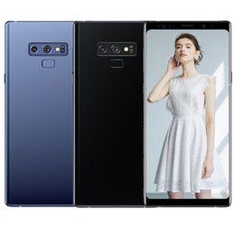 примечание разблокированные сотовые телефоны dual sim Скидка ERQIYU note9 GooPhone смартфоны разблокирована сотовый телефон двойной SIM 9.0 показано 128 ГБ ПЗУ 4G по ноте в формате mp3 сотовые телефоны