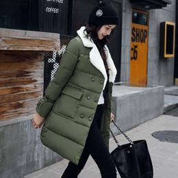 59e42754a Chaqueta para mujeres embarazadas 2018 nuevo estilo de plumas de moda  engrosamiento de algodón largo invierno mujeres embarazadas abrigo