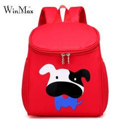 Wholesale cute cartoon dog backpack - New 3D Cute Animal Design Backpack Kids School Bags For Girls Boys Fashion Cartoon Children Backpacks 3-6 Yars Old Dog Rabbit