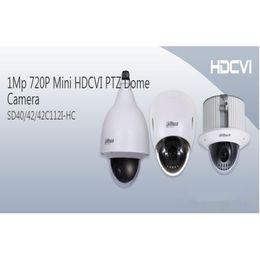 Wholesale dahua mini dome - High Quality 720P Dahua Mini 12X ZoomHDCVI PTZ Dome Camera DWDR with Alarm SD40112I-HC for Shopping Mall