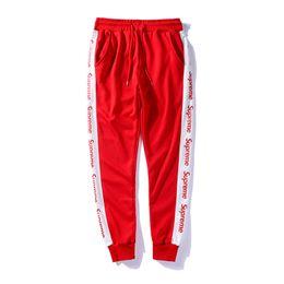 Wholesale jogging capris men - Luxury Brand Brand Mens Joggers Casual Harem Sweatpants Sport Pants Men Gym Bottoms Track Training Jogging Trousers