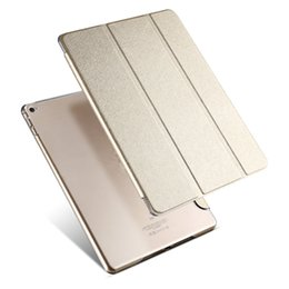 "Wholesale apple pc tablets - New Leather Cover For Apple Air 2 Tablet PC Case Smart Accessories Luxury Case For Apple Pad 2 3 4 mini 4 Case for pro 9.7"" Shockproof Stand"