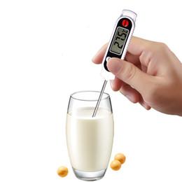 Canada 2018 haute qualité sonde de cuisine numérique thermomètre pour barbecue cuisine électronique sonde de nourriture viande eau lait viande thermomètre outils de cuisine supplier high temperature electronics Offre