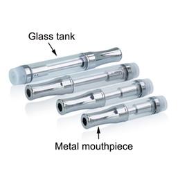 .5 мл 1 мл 92a3 одноразовые стеклянные atomzier двойной BVC катушки 510 картридж для концентрата густой нефти РК kINGPEN кастет vape танк от