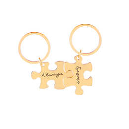 keyring sets UK - Summer New arrival Keychain Europe and America Creative  Personality Jewelry English Engraving 1f0d753f3