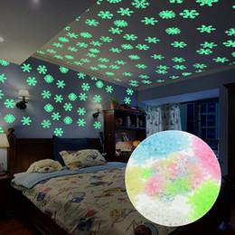 2019 aurora master lights New Fun Express Neon Couleur Veilleuse Luminescent Stickers Muraux Sticker Bébé Enfants Chambre Décor À La Maison Couleur Étoiles Lumineux Fluorescent