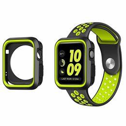 Argentina Funda protectora deportiva NK 38 mm 42 mm Funda protectora suave Funda protectora resistente a los arañazos para iWatch Apple Watch 1 2 3 cheap apple watch sport case Suministro