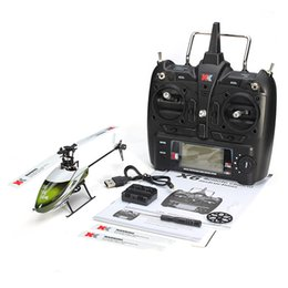 Wholesale Brushless System - Wltoys XK K100 Falcom 6CH Flybarless 3D 6G System remote control toy Brushless Motor RC Helicopter RTF VS Wltoys V977