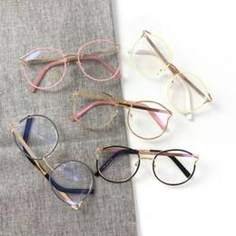 868ab54f52 quadros para óculos femininos Desconto Personalidade Cateye Mulheres Óculos  Frames Limpar Moda Óptica Óculos de Armação
