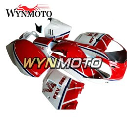 Wholesale Yzf Cowling - Motorcycle Body Kit Red Cowling ABS Injection Bodywork For Yamaha RZV500 Year 1985 85 Complete Fairing Kit Body Kit Cowling Hulls Bodywork