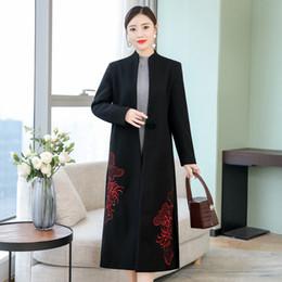 Manteau oversize femme long