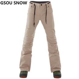 GSOU SNOW Brand Ski Pants Men Waterproof Ski Trousers Winter Outdoor  Snowboarding Pants Thicken Warm Skiing Snowboarding Male 271514ffa