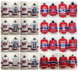 Deutschland 2019 Montreal Canadiens 31 Carey Preis Shea Weber Jonathan Drouin Gallagher Alex Galchenyuk Max Pacioretty Andrew Shaw 100. Hockey Trikots supplier alex galchenyuk jersey Versorgung