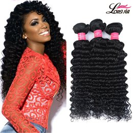 Wholesale Dyeable Brazilian Human Hair - Gagaqueen 7a Grade Wholesale 4 Pcs Brazilian Virgin Hair Deep Wave Unprocessed Brazilian Deep Curly Wave Human Hair Dyeable HairExtenesions