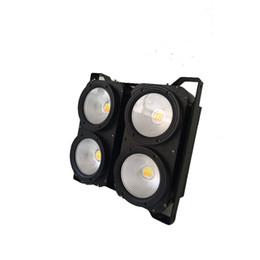 contexto de rideau vidéo Promotion DMX512 IP20 ÉPI 4 yeux 4 x 100 W blanc-blanc blanc 2 dans 1 stade conduit l'auditoire a mené la lumière