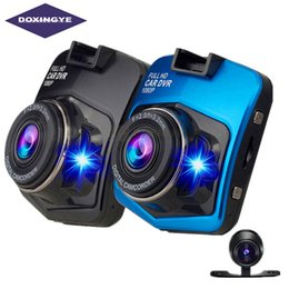 "Автомобильный видеомагнитофон dual онлайн-DOXINGYE,2.4""Full HD 1080P New Dual Cameras Car DVR Auto Video Camera Driving Recorder Night Vision G-senso Black Box Dash Cam"