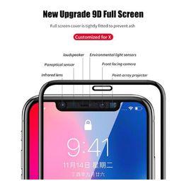 Cristal de protección avanzado 9D para 2018 iPhone XS XR XS Protector de pantalla máximo Vidrio templado iphone X XR 6.1