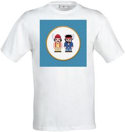 Diseño gráfico color online-Camiseta blanca de Satellite Satellite Sketch Graphic Design para hombre (mujer disponible)