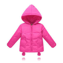 Wholesale baby clothes for cheap - 2017 duck down jacket for boys girls in autumn winter warm children clothes fluff coat baby jacket clothes for kids gift cheap