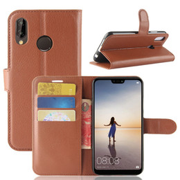 leather playing card holder Coupons - For Huawei P20 lite pro Mate 9 Y9 2018 Huawei Nova 3i Honor 8X 10 Play Wallet Leather Holder Luxury Pouch Flip Cover+TPU Card Case