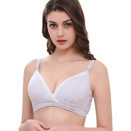 54c4c92e56904 1007  Cross Type Cotton Maternity Nursing Bras Breastfeeding Underwear  Clothes for Pregnant Women Pregnancy Breast Feeding Wear
