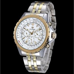 Wholesale Mechanical Automatic Tungsten Men Watch - 2017 Mens Watches top brand luxury Winner Fashion Skeleton Clock Men Sport Watch Automatic Mechanical Watches Relogio Masculino