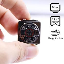 2019 определение спорта Высокой четкости 1080P x 720P Мини-камера SQ8 Спорт DV диктофон инфракрасный ночной видеокамеры цифровой шлем Cam дешево определение спорта
