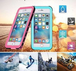 Wholesale Redpepper Iphone Case Cover - Redpepper Waterproof Case Shockproof Dirt-resistant Swimming Surfing Cases Cover For iPhone X 8 7 6S Plus Samsung Galaxy S7 S8 S9 Plus