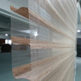 Wholesale Custom Living Room Curtains - Custom Made Size Shangri-la Blinds sheer horizontal windowin Light Brown Window Curtains for Living Room 6 Colors are Available