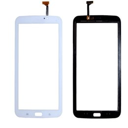 Wholesale Touch Screen Tape - 50PCS Touch Screen Digitizer Glass Lens with Tape for Samsung Galaxy Tab 3 7.0 T210 T211 free DHL
