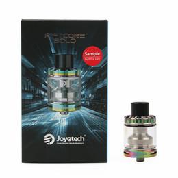 Canada 100% d'origine Joyetech Riftcore Solo RTA Atomizer 3,5 ml de capacité RFC Chauffage SelfCleaning Cigarettes électroniques Offre