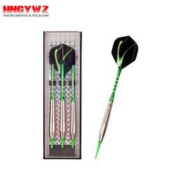 Wholesale Darts Sets - Electronic Darts set Soft darts 18 Gram Plastic Dart Tips Darts Set with Aluminum Shafts with Flights