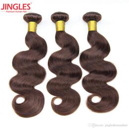 Raw Indian Body wave Cheveux 3 Bundles 2 # Vierges Cheveux Humains Bundles Top Qualité Vierge Indienne Vierge Extensions de Cheveux 12-24 Pouces Livraison Gratuite ? partir de fabricateur