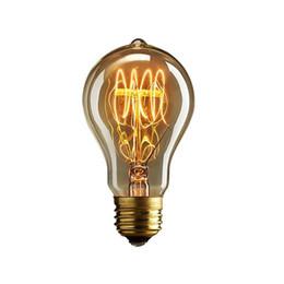 Wholesale Vintage Dress Shops - A19 Lovely Bulb E27 Incandescent Vintage Light Bulb,Household Bar Coffee Shop Hotel  Dress Shop Retro Classic  Light Bulb[PD-50]