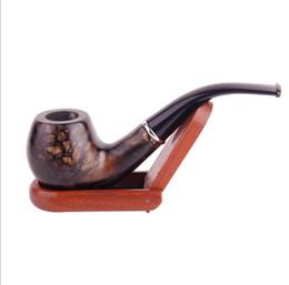 Nuevo patrón clásico de madera maciza de estilo antiguo, porta cigarrillos, caja de regalo, herramienta para fumar cigarrillos, mordida acrílica. desde fabricantes