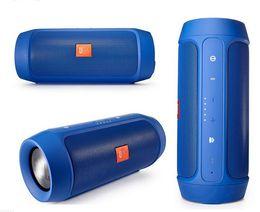 Wholesale Audio Plugs - The CHarge2 II wireless bluetooth speaker outdoor portable low sound gun mini plug-in HIFI small audio factory wholesale