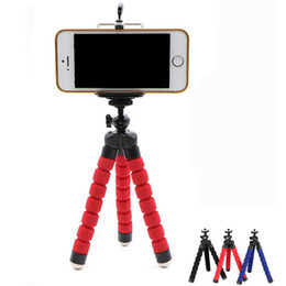 cell cars Coupons - Flexible Octopus Tripod Phone Holder Universal Stand Bracket For Cell Phone Car Camera Selfie Monopod with Bluetooth Remote Shutter