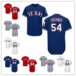 Wholesale Prince Homes - custom Men's Women Youth Texas Jersey #54 Andrew Cashner 84 Prince Fielder Home Blue Red Ranger Kids Baseball Jerseys