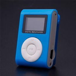 usb-flash-laufwerk lautsprecher-player Rabatt 2018 Mode MP3 Musik Player LCD Bildschirm Mini Recorder Slim Mp3 Player Unterstützung Micro TF Card Slot 2/4/8/16 / 32GB
