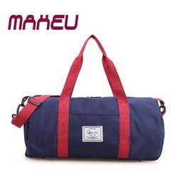 2018 Top Quality Fitness Gym Sport Bags Men and Women Waterproof Sports  Handbag Outdoor Travel Camping Multi-function Bag b58293169d