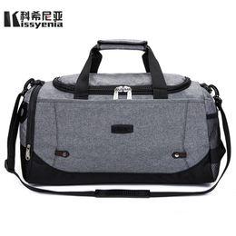 d74dda5b96fb flight bag luggage Canada - Kissyenia Flight Bags Light Travel Duffle Bag  Men Large Capacity Soft
